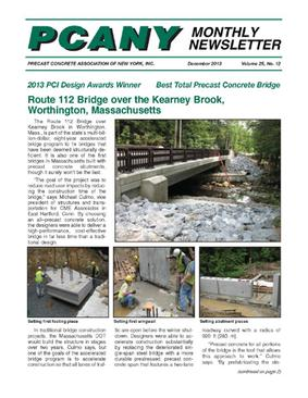 """JHM constructed one of the first """"all pre-cast"""" bridges for"""